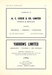 Page 9, 1958 Edition, Royal Military College of Canada - Review Yearbook (Kingston, Ontario Canada) online yearbook collection