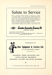 Page 8, 1961 Edition, Royal Military College of Canada - Review Yearbook (Kingston, Ontario Canada) online yearbook collection