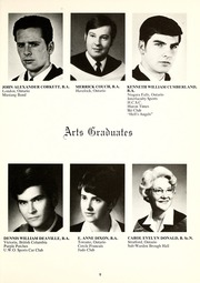 Page 13, 1969 Edition, Huron University College - Huron Heritage Yearbook (London, Ontario Canada) online yearbook collection