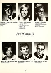 Page 17, 1969 Edition, Huron University College - Huron Heritage Yearbook (London, Ontario Canada) online yearbook collection