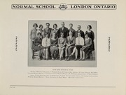 Page 10, 1928 Edition, London Normal School - Spectrum Yearbook (London, Ontario Canada) online yearbook collection
