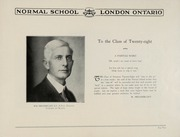 Page 5, 1928 Edition, London Normal School - Spectrum Yearbook (London, Ontario Canada) online yearbook collection