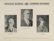 Page 8, 1928 Edition, London Normal School - Spectrum Yearbook (London, Ontario Canada) online yearbook collection
