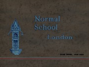 London Normal School - Spectrum Yearbook (London, Ontario Canada) online yearbook collection, 1929 Edition, Page 1