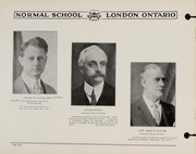 Page 10, 1930 Edition, London Normal School - Spectrum Yearbook (London, Ontario Canada) online yearbook collection