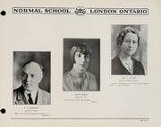 Page 11, 1930 Edition, London Normal School - Spectrum Yearbook (London, Ontario Canada) online yearbook collection