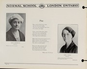 Page 12, 1930 Edition, London Normal School - Spectrum Yearbook (London, Ontario Canada) online yearbook collection