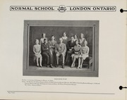Page 14, 1930 Edition, London Normal School - Spectrum Yearbook (London, Ontario Canada) online yearbook collection