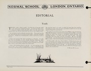 Page 16, 1930 Edition, London Normal School - Spectrum Yearbook (London, Ontario Canada) online yearbook collection