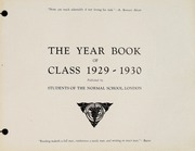 Page 3, 1930 Edition, London Normal School - Spectrum Yearbook (London, Ontario Canada) online yearbook collection