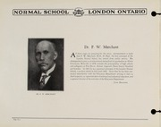 Page 6, 1930 Edition, London Normal School - Spectrum Yearbook (London, Ontario Canada) online yearbook collection