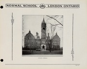 Page 7, 1930 Edition, London Normal School - Spectrum Yearbook (London, Ontario Canada) online yearbook collection