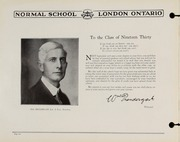 Page 8, 1930 Edition, London Normal School - Spectrum Yearbook (London, Ontario Canada) online yearbook collection