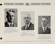 Page 9, 1930 Edition, London Normal School - Spectrum Yearbook (London, Ontario Canada) online yearbook collection
