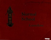 Page 1, 1931 Edition, London Normal School - Spectrum Yearbook (London, Ontario Canada) online yearbook collection