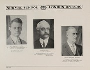 Page 10, 1931 Edition, London Normal School - Spectrum Yearbook (London, Ontario Canada) online yearbook collection