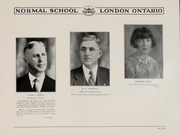 Page 11, 1931 Edition, London Normal School - Spectrum Yearbook (London, Ontario Canada) online yearbook collection