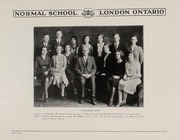 Page 14, 1931 Edition, London Normal School - Spectrum Yearbook (London, Ontario Canada) online yearbook collection