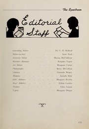 Page 7, 1939 Edition, London Normal School - Spectrum Yearbook (London, Ontario Canada) online yearbook collection