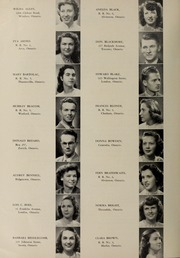 Page 16, 1949 Edition, London Normal School - Spectrum Yearbook (London, Ontario Canada) online yearbook collection
