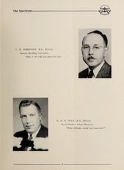 Page 11, 1951 Edition, London Normal School - Spectrum Yearbook (London, Ontario Canada) online yearbook collection