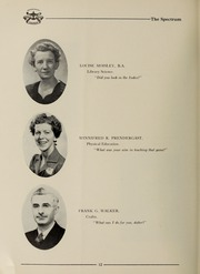 Page 14, 1951 Edition, London Normal School - Spectrum Yearbook (London, Ontario Canada) online yearbook collection