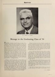 Page 7, 1959 Edition, London Normal School - Spectrum Yearbook (London, Ontario Canada) online yearbook collection