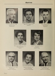 Page 8, 1959 Edition, London Normal School - Spectrum Yearbook (London, Ontario Canada) online yearbook collection