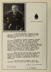 Page 8, 1966 Edition, London Normal School - Spectrum Yearbook (London, Ontario Canada) online yearbook collection