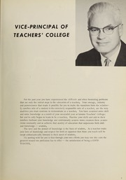 Page 11, 1967 Edition, London Normal School - Spectrum Yearbook (London, Ontario Canada) online yearbook collection