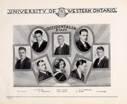 Page 10, 1930 Edition, University of Western Ontario - Occidentalia Yearbook (London, Ontario Canada) online yearbook collection