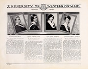 Page 16, 1930 Edition, University of Western Ontario - Occidentalia Yearbook (London, Ontario Canada) online yearbook collection
