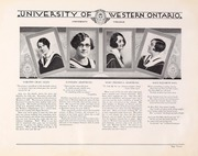 Page 17, 1930 Edition, University of Western Ontario - Occidentalia Yearbook (London, Ontario Canada) online yearbook collection