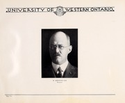 Page 8, 1930 Edition, University of Western Ontario - Occidentalia Yearbook (London, Ontario Canada) online yearbook collection