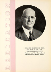 Page 8, 1937 Edition, University of Western Ontario - Occidentalia Yearbook (London, Ontario Canada) online yearbook collection