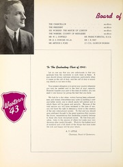 Page 14, 1943 Edition, University of Western Ontario - Occidentalia Yearbook (London, Ontario Canada) online yearbook collection