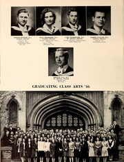 Page 38, 1946 Edition, University of Western Ontario - Occidentalia Yearbook (London, Ontario Canada) online yearbook collection