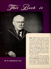 Page 8, 1947 Edition, University of Western Ontario - Occidentalia Yearbook (London, Ontario Canada) online yearbook collection