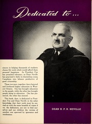 Page 9, 1947 Edition, University of Western Ontario - Occidentalia Yearbook (London, Ontario Canada) online yearbook collection