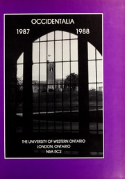 Page 5, 1988 Edition, University of Western Ontario - Occidentalia Yearbook (London, Ontario Canada) online yearbook collection