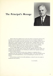 Page 7, 1968 Edition, North Bay Teachers College - Polaris Yearbook (North Bay, Ontario Canada) online yearbook collection