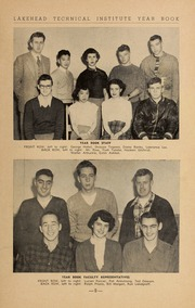 Page 11, 1953 Edition, Lakehead University - Yearbook (Thunder Bay, Ontario Canada) online yearbook collection