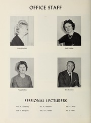 Page 12, 1963 Edition, Lakehead University - Yearbook (Thunder Bay, Ontario Canada) online yearbook collection