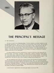 Page 8, 1963 Edition, Lakehead University - Yearbook (Thunder Bay, Ontario Canada) online yearbook collection