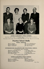 Page 15, 1948 Edition, Peterborough Teachers College - PTC Yearbook (Peterborough, Ontario Canada) online yearbook collection