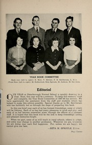 Page 17, 1948 Edition, Peterborough Teachers College - PTC Yearbook (Peterborough, Ontario Canada) online yearbook collection