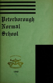 Page 5, 1948 Edition, Peterborough Teachers College - PTC Yearbook (Peterborough, Ontario Canada) online yearbook collection