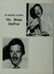 Page 6, 1984 Edition, Milton High School - Blue Gold Yearbook (Milton, VT) online yearbook collection