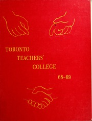 Page 1, 1969 Edition, Toronto Teachers College - Yearbook (Toronto, Ontario Canada) online yearbook collection