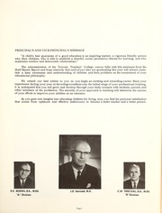 Page 5, 1969 Edition, Toronto Teachers College - Yearbook (Toronto, Ontario Canada) online yearbook collection